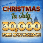 Join the Free Spin Holiday in July at Casino Castle