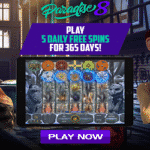 Paradise 8 Casino: 5 Daily Spins For 365 Days